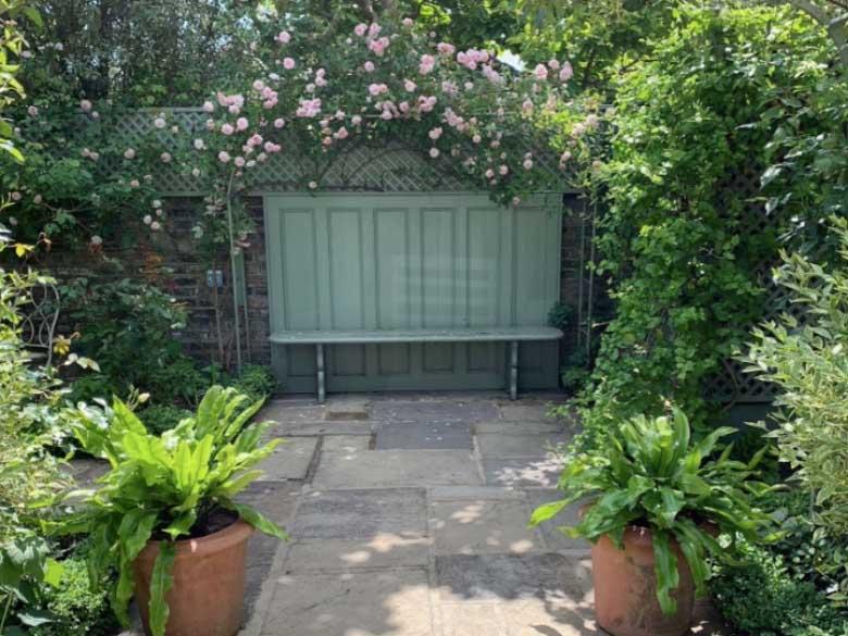 The Victorian Courtyard Garden